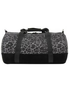 MI-PAC taška DUFFEL CRACKED BLACK/SILVER