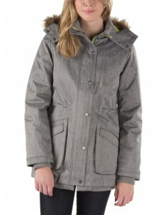 VANS bunda CADET 2 PARKA FROST GRAY HEATHER