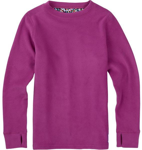 Burton Termoprádlo Fleece Set Grapeseed - S růžová