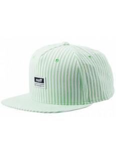 NEFF kšiltovka SEERSUCKA GREEN