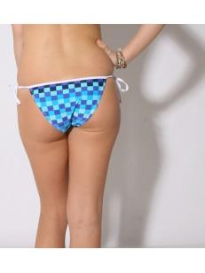 69SLAM plavky TRIANGLE BIKINI NIRVANA BLUE
