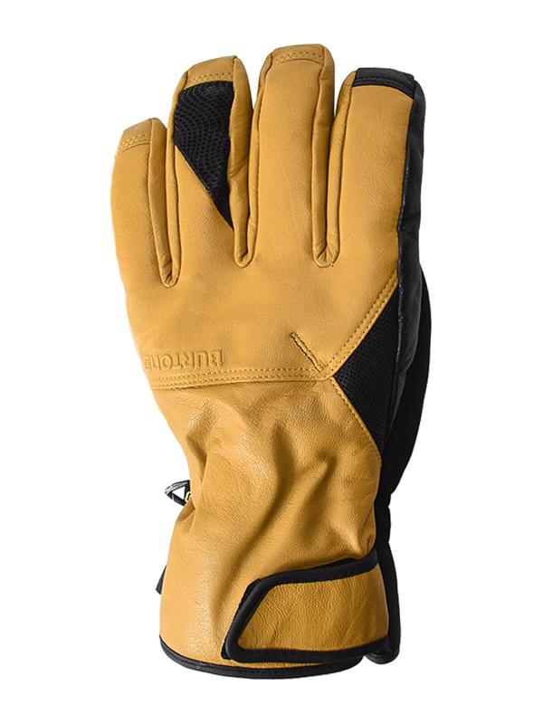 Burton Rukavice Gondy Gore Leather Raw Hide - S hnědá