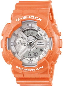 CASIO hodinky G-SHOCK GA ORANGE