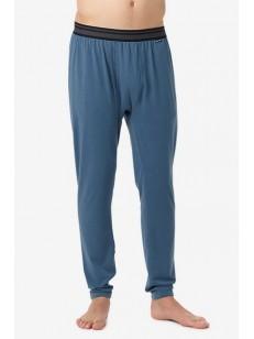 BURTON termo kalhoty MIDWEIGHT WASHED BLUE