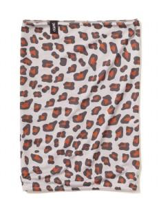 CLAST šátek EASE LEOPARD BROWN