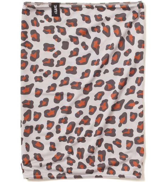 Clast Šátek Ease Leopard Brown hnědá