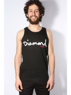 DIAMOND SUPPLY CO tílko OG SCRIPT TANK BLACK