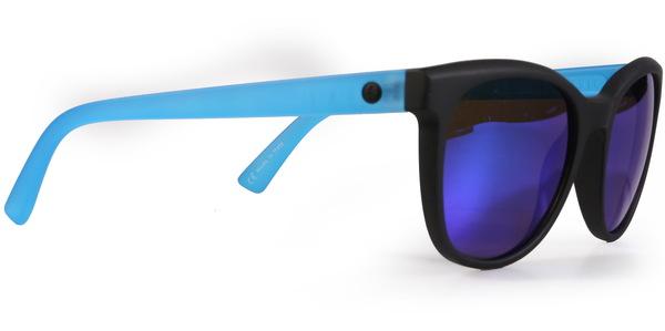 Electric Sluneční Brýle Bengal Matte Black Blue modrá