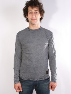 ALTAMONT tričko REYNOLDS WASH DARK GREY