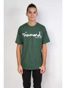 DIAMOND SUPPLY CO triko OG SCRIPT FOREST