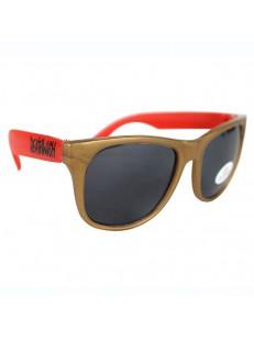 DEATHWISH sluneční brýle RED 38 GOLD
