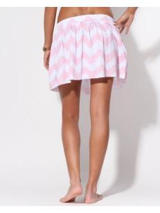FEMI PLEASURE sukně NANCY PINK ZIGZAK