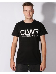 COLOUR WEAR tričko WEAR CLWR BLACK