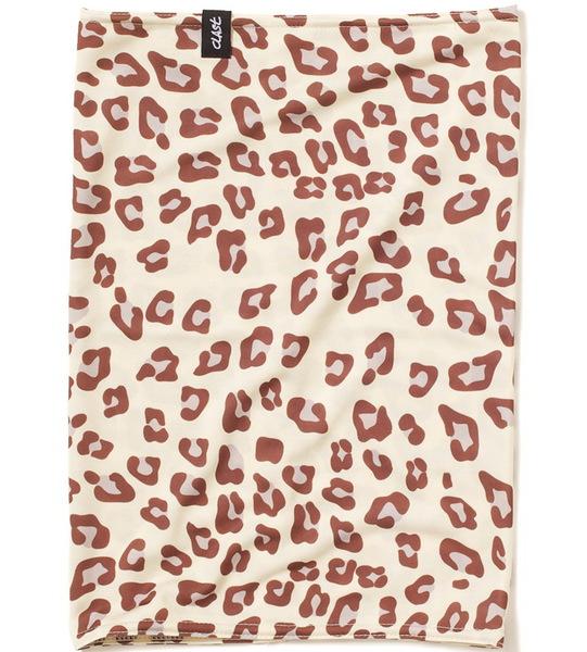 Clast Šátek Ease Leopard Sand hnědá
