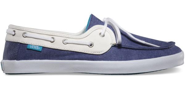 Vans Boty Chauffette Navy/white - Eur 35 modrá
