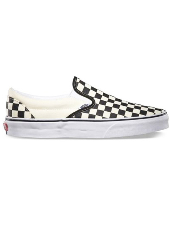 Vans Boty Classic Slip-on Black And White - Eur 35 bílá