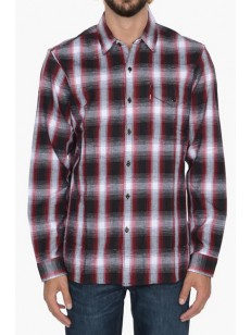 LEVIS košile REFORMER SHERPA RED PLAID