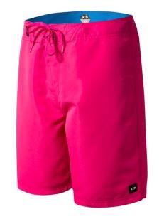 OAKLEY koupací šortky CLASSIC COLORBLOCK FUCHSIA