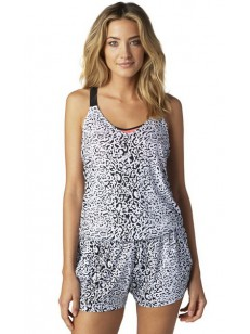 FOX sukně CONTEST ROMPER BLACK