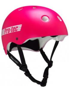 PRO TEC helma CLASSIC SK8/BIKE SATIN PINK RETR