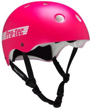 Pro Tec Helma Classic Sk8/bike Satin Pink Retr - L růžová
