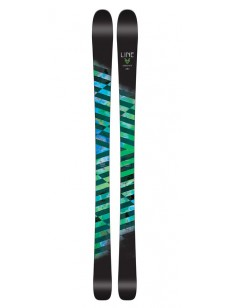 LINE lyže 87 ASSORTED 165 CM BLACK-GREEN