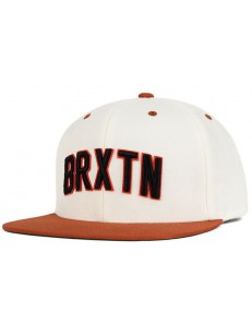 BRIXTON kšiltovka HAMILTON WHITE/ORANGE