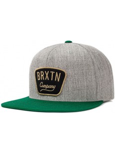 BRIXTON kšiltovka GASTON HEATHER GREY/HUNTER