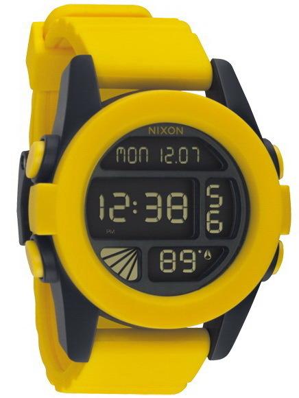 Hodinky Nixon Unit Yellow/black