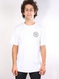 BRIXTON triko OATH STANDARD WHITE/BLACK