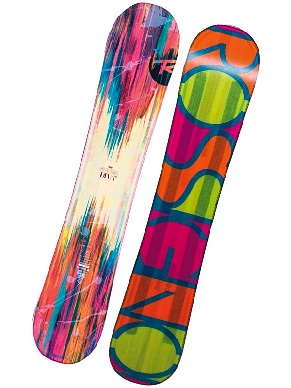 Rossignol Snowboard Diva Magtek 148cm oranžová
