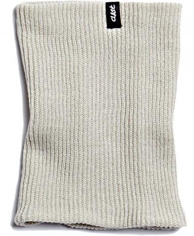 CLAST šátek KNITTED LT GRY