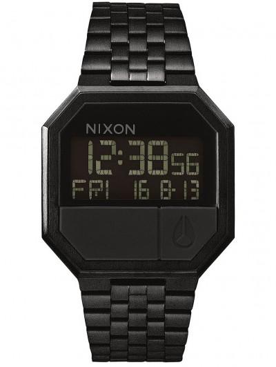 NIXON hodinky RE-RUN ALLBLACK