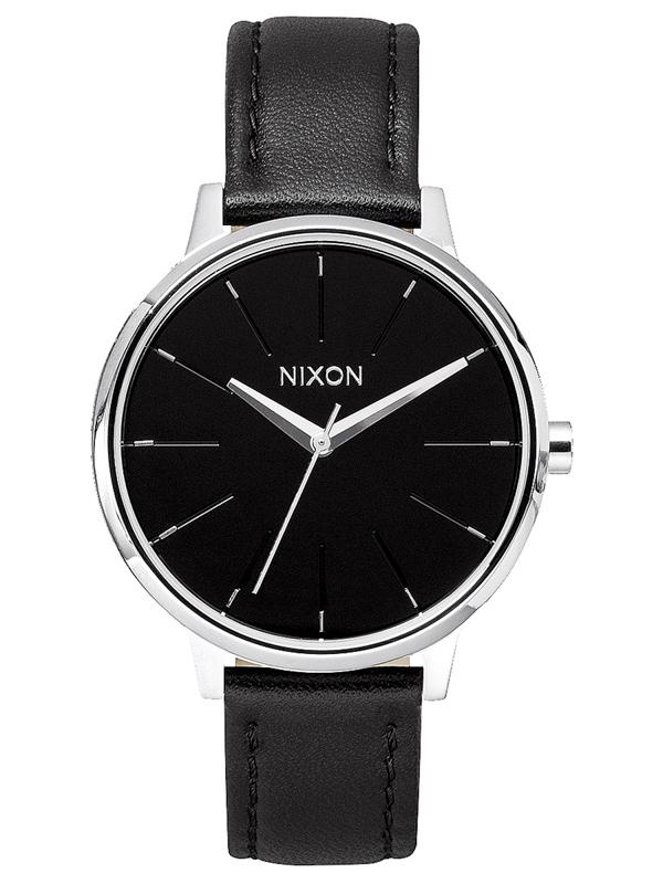 Hodinky Nixon Kensington Leather Black n