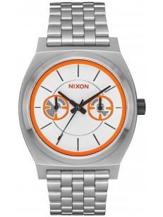 NIXON hodinky TIME TELLER DELUXE STAR WARS BB-8/SI