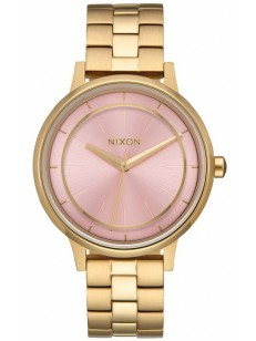 NIXON hodinky KENSINGTON LIGHTGOLDPINK