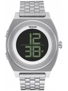 NIXON hodinky TIME TELLER DIGI SS BLACK