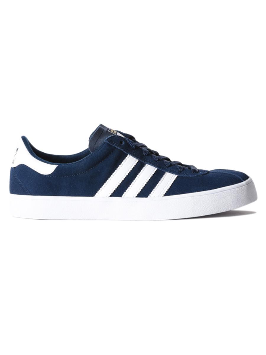 Adidas Boty Skate Adv Navy/wht/wht - 10us modrá