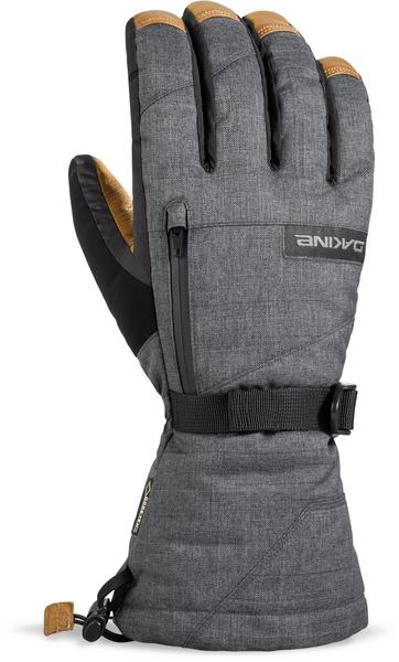 Dakine Rukavice Leather Titan Carbon - Xl šedá