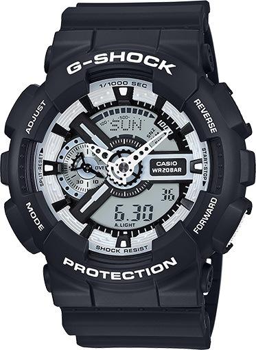 Casio Hodinky G-shock Black černá