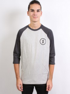 ELECTRIC triko VOLT TEAM RAGLAN HEATHER DARK