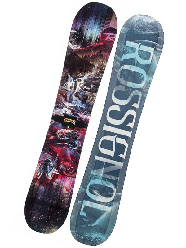 Rossignol Snowboard Angus Magtek - 160 černá