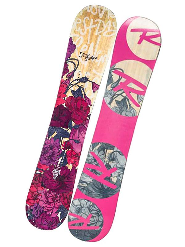 Rossignol Snowboard Frenemy Magtek 144cm růžová