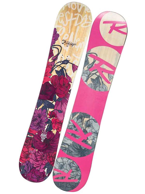 Rossignol Snowboard Frenemy Magtek 147cm růžová