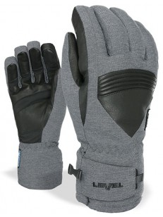 LEVEL rukavice SUPER RADIOTOR GORE-TEX PK BLACK