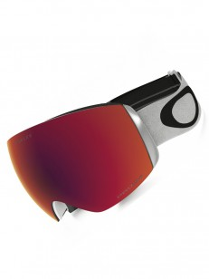 OAKLEY brýle FLIGHT DECK WHITE/RED