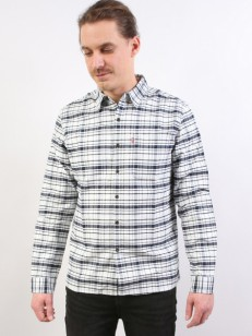 LEVIS košile SKATE RIVETER CYMBALS WHITE SMOKE