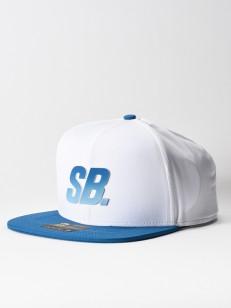 NIKE SB kšiltovka FADE DRI-FIT WHITE/BLUE