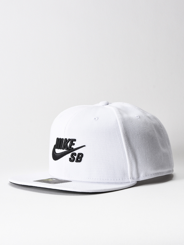 Nike Sb Kšiltovka Icon White/black bílá