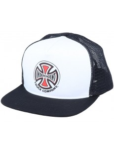 INDEPENDENT kšiltovka TRUCK CO MESH White/Black